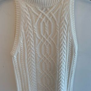 Intermix sleeveless sweater